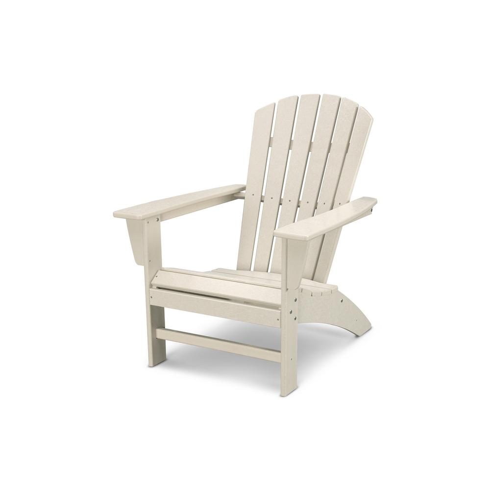 Weatherproof Adirondack Chairs Details About Outdoor Adirondack Chair Traditional Curveback Sand Plastic Seat Weatherproof