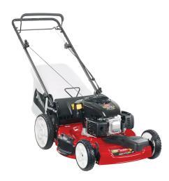 kohler high wheel variable speed gas walk behind self propelled lawn mower [ 1000 x 1000 Pixel ]