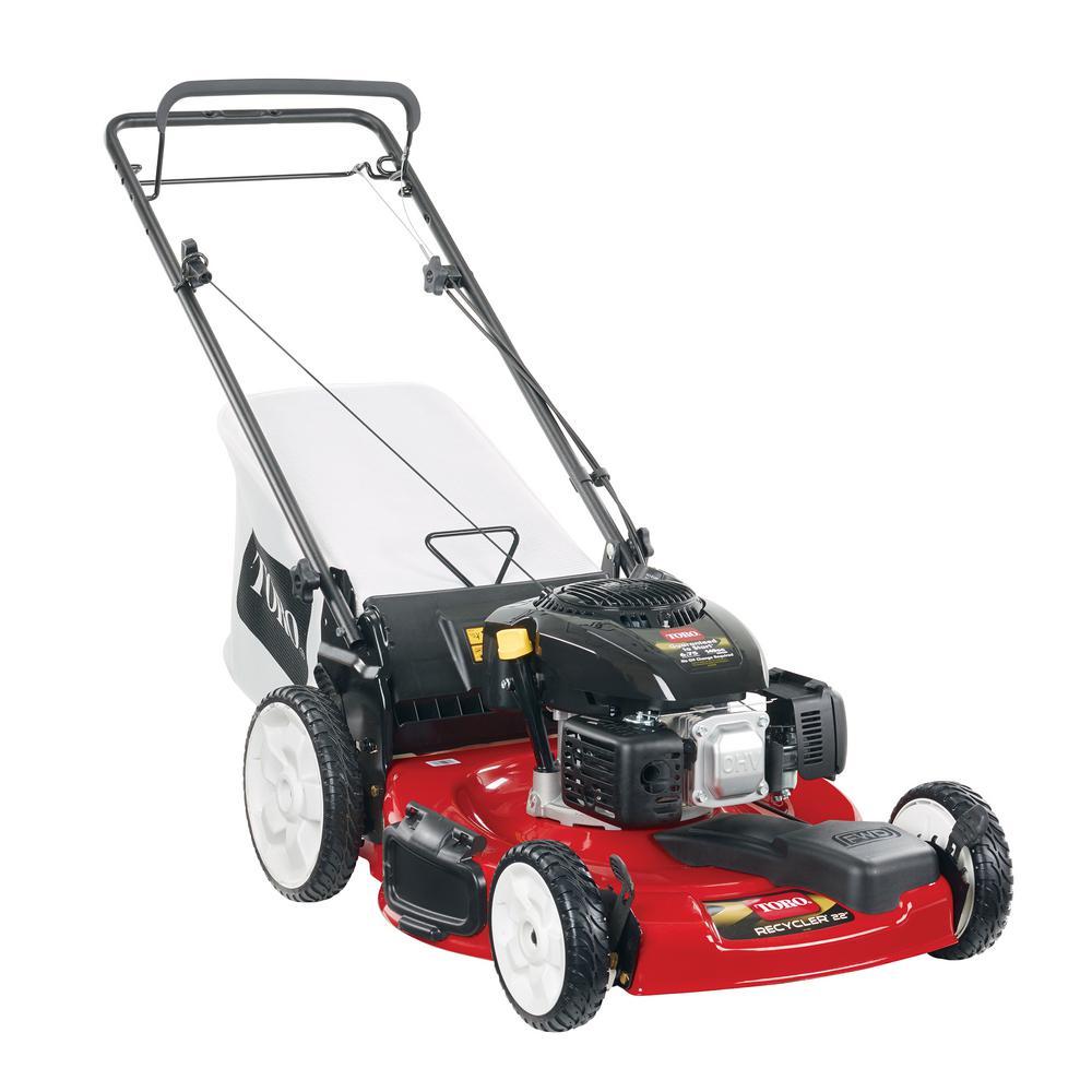hight resolution of kohler high wheel variable speed gas walk behind self propelled lawn mower