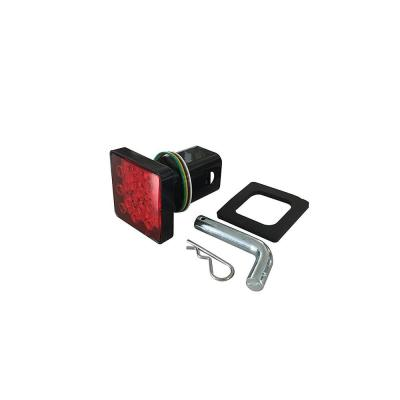 7 round trailer plug diagram hyperstart dual battery kit wiring reese towpower way to 4 flat adapter 74607 the home depot hitch cover with 12 led s brake and tail light functions