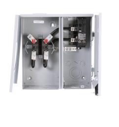 200 amp 2 space 2 circuit 4 jaw overhead underground outdoor meter main [ 1000 x 1000 Pixel ]