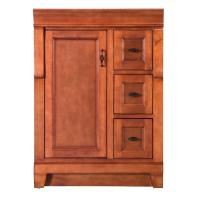 Foremost Naples 24 in. W Bath Vanity Cabinet Only in Warm ...