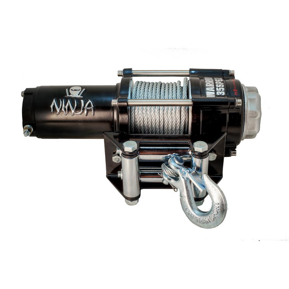 medium resolution of capacity 12 volt electric winch for atv utvs