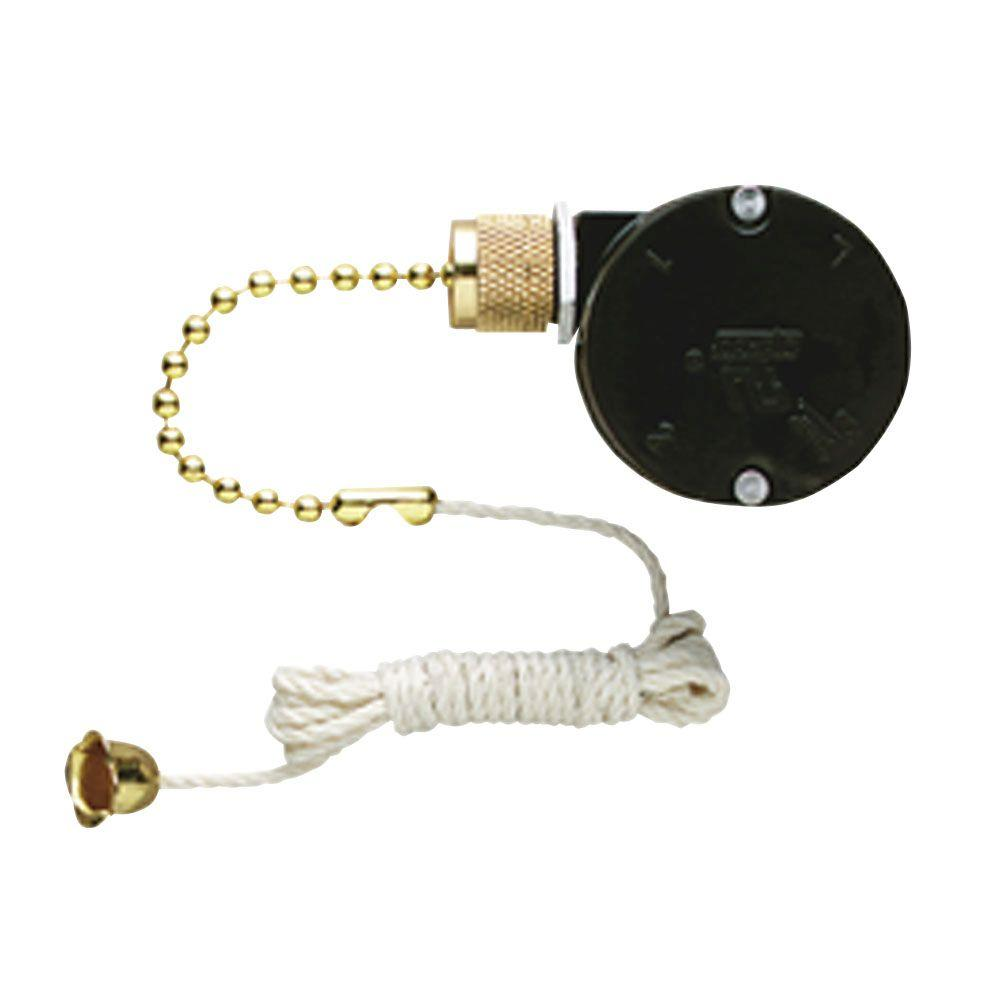 medium resolution of replacement 3 speed fan switch with pull chain for triple capacitor ceiling fans