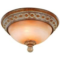 Hampton Bay Berlini 2-Light Tuscan Patina Flushmount-18049 ...