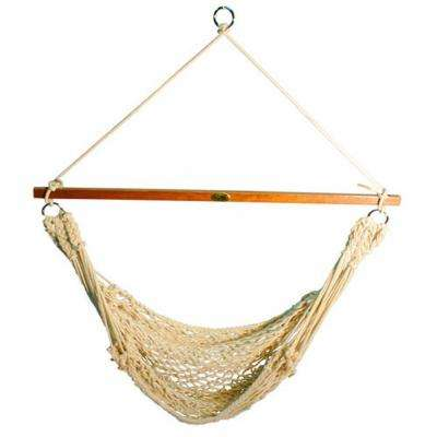 hanging hammock chair glider and ottoman canada chairs hammocks the home depot cotton rope