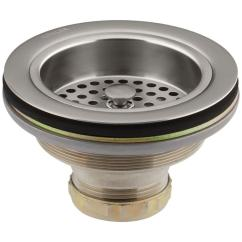 Kitchen Sink Drain Portable Islands For Kitchens Kohler Duostrainer 4 1 2 In Strainer Vibrant Stainless