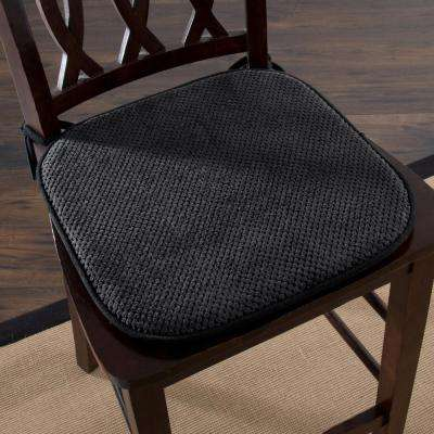 black chair pads denim pockets the home depot 16