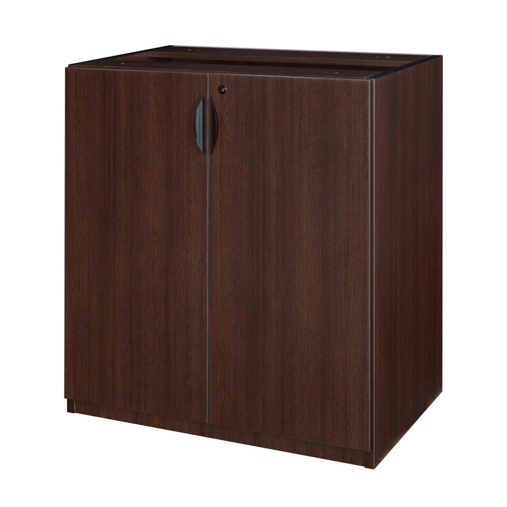Regency Legacy Java Stand Up Storage Cabinet without Top