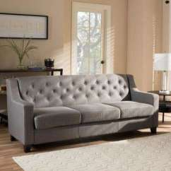 Contemporary Sofas And Loveseats Coaster Natalia Sofa Review Modern Gray Living Room Furniture The Home Arcadia Fabric Upholstered
