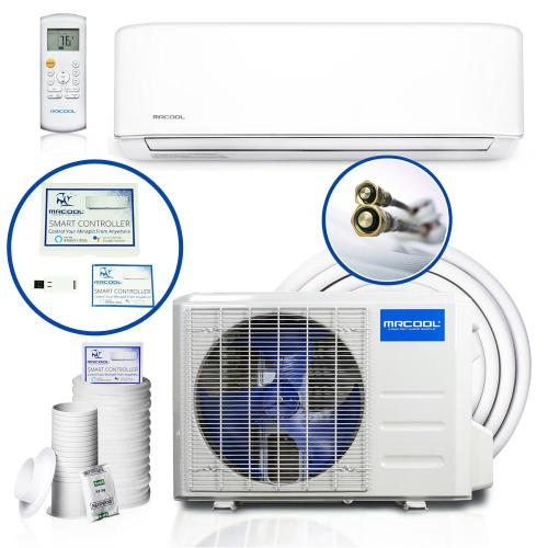 small resolution of diy enhanced 34 400 btu ductless mini split air conditioner and heat pump 208 230v 60hz