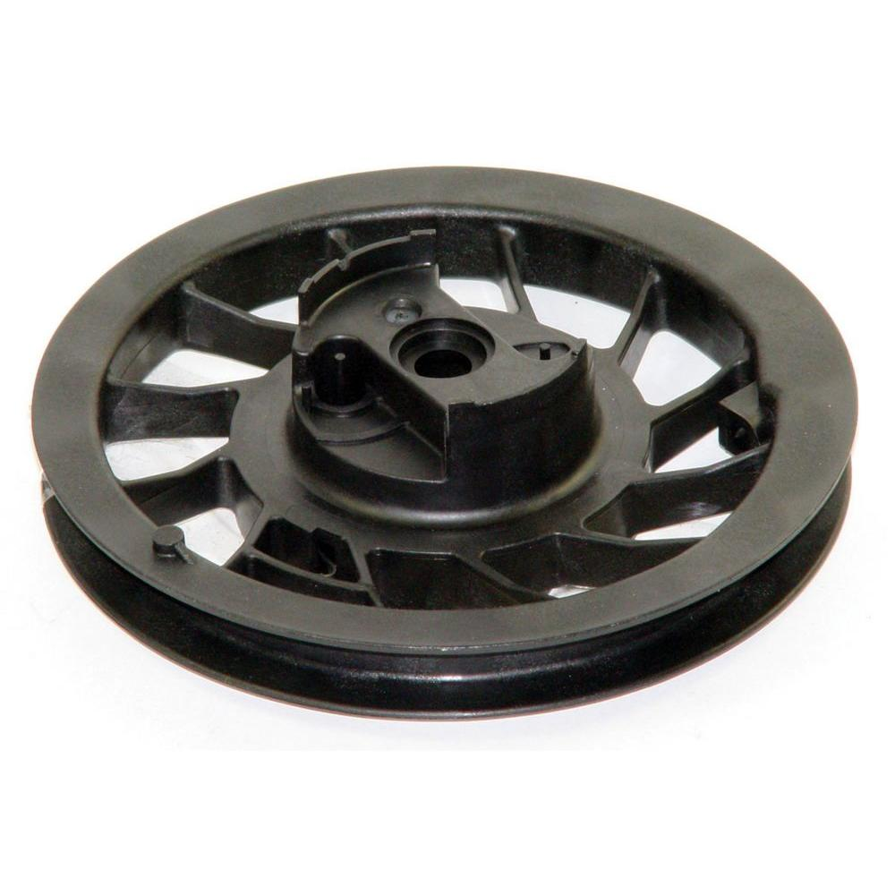 hight resolution of briggs stratton recoil pulley with spring