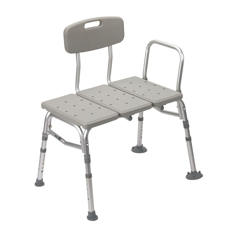 transfer shower chair folding canopy drive 32 in w x 23 d 3 piece seat rtl12031kdr