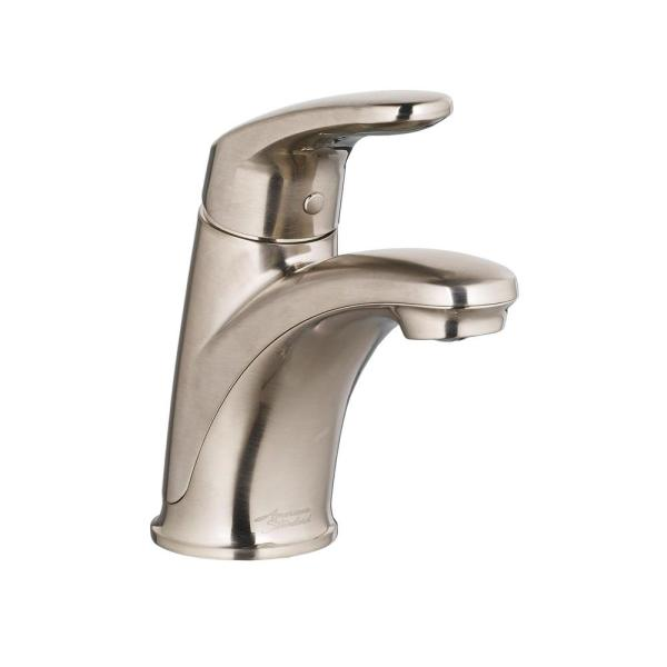 single hole bathroom faucet with pop up drain American Standard Colony Pro Single Hole Single-Handle Bathroom Faucet with Pop-Up Drain in