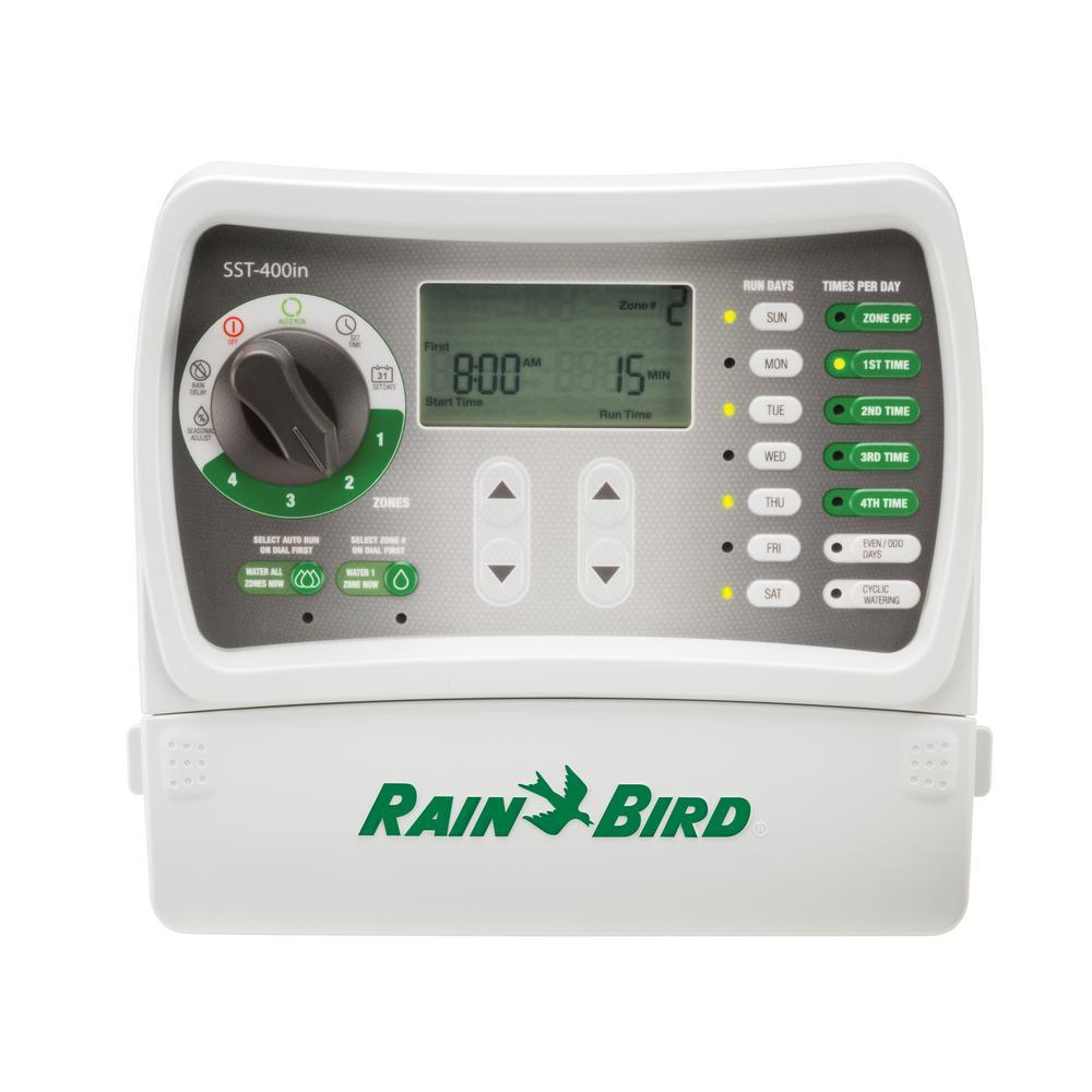 hight resolution of rain bird 4 station indoor simple to set irrigation timer