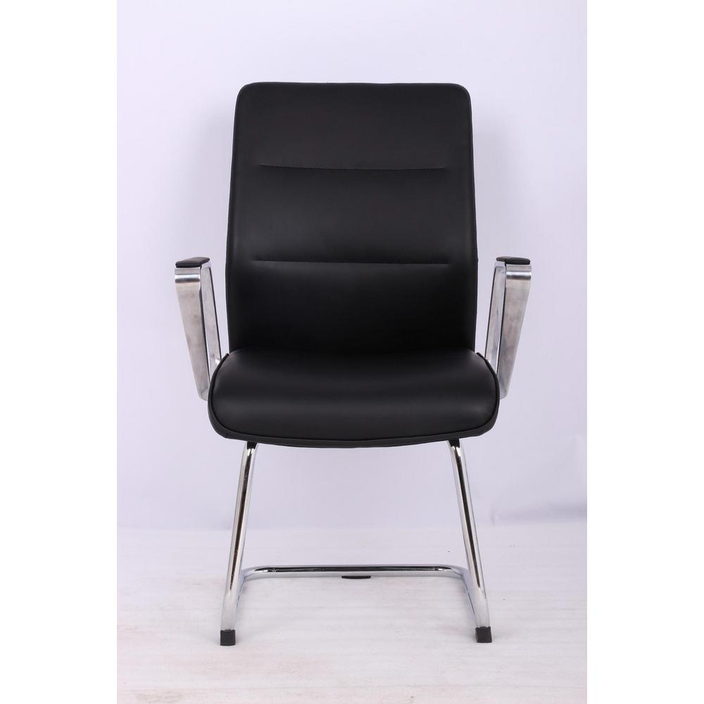 pu leather office chair cheap living room chairs tygerclaw mid back microfiber tyfc220020 the home depot