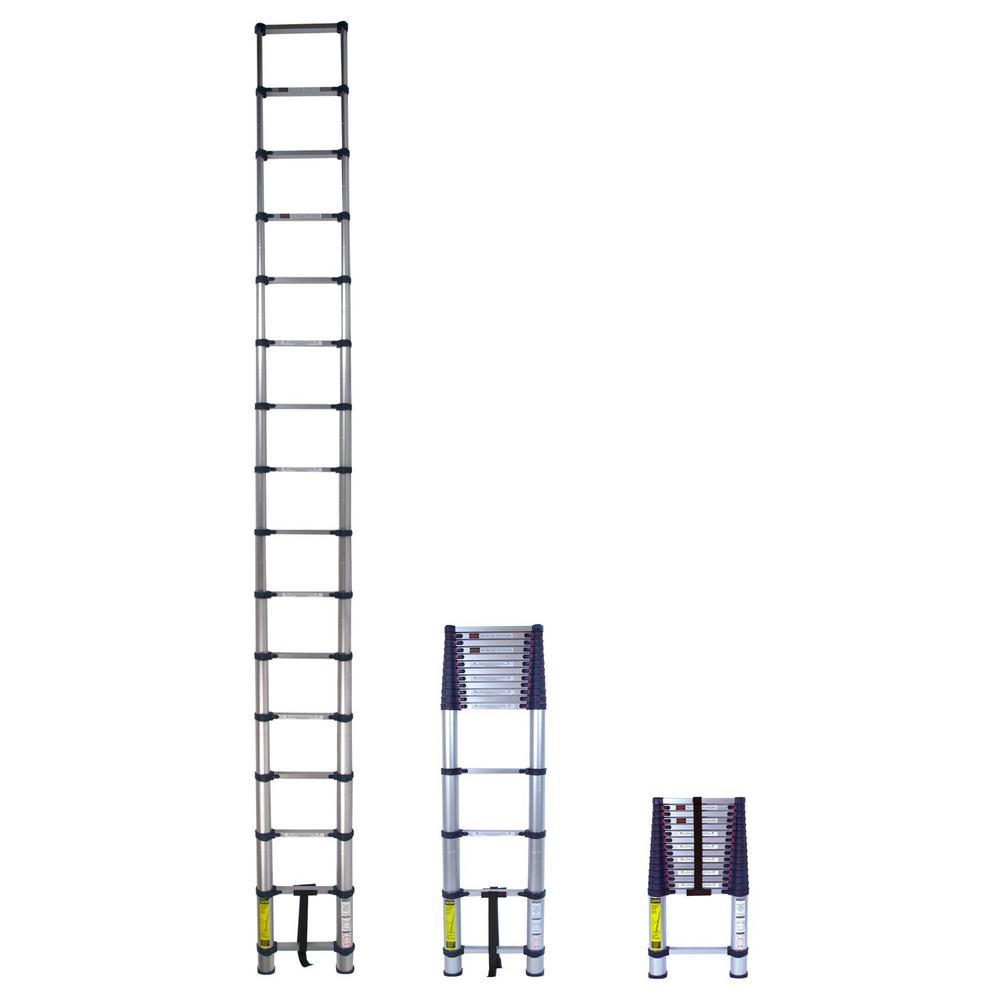 Xtend & Climb 15.5 ft. Telescoping Aluminum Extension