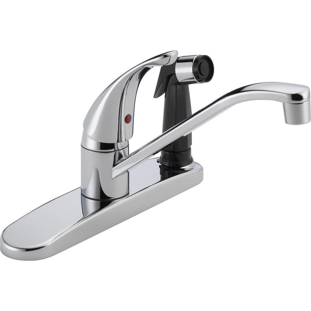 Peerless Core SingleHandle Standard Kitchen Faucet with