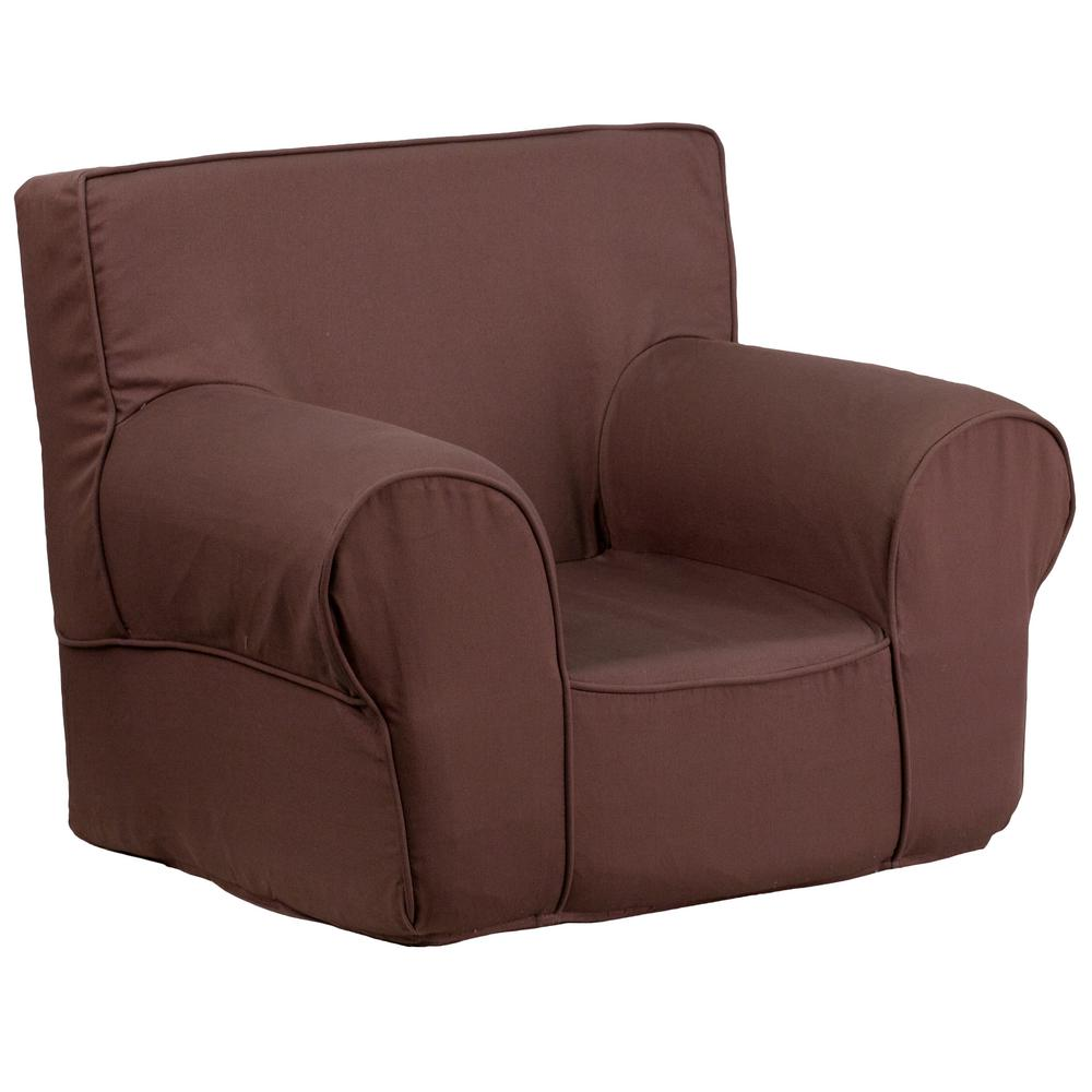 Small Club Chair Flash Furniture Small Solid Brown Kids Chair