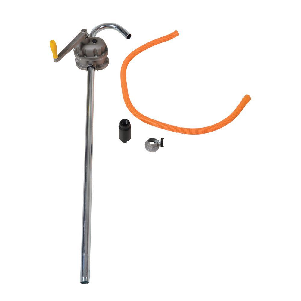 Vestil Rotary Manual Aluminum Drum Pump with 2 in. Bung