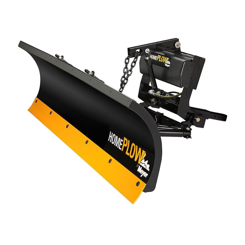 Home Plow By Meyer 80 In X 22 In Residential Snow Plow