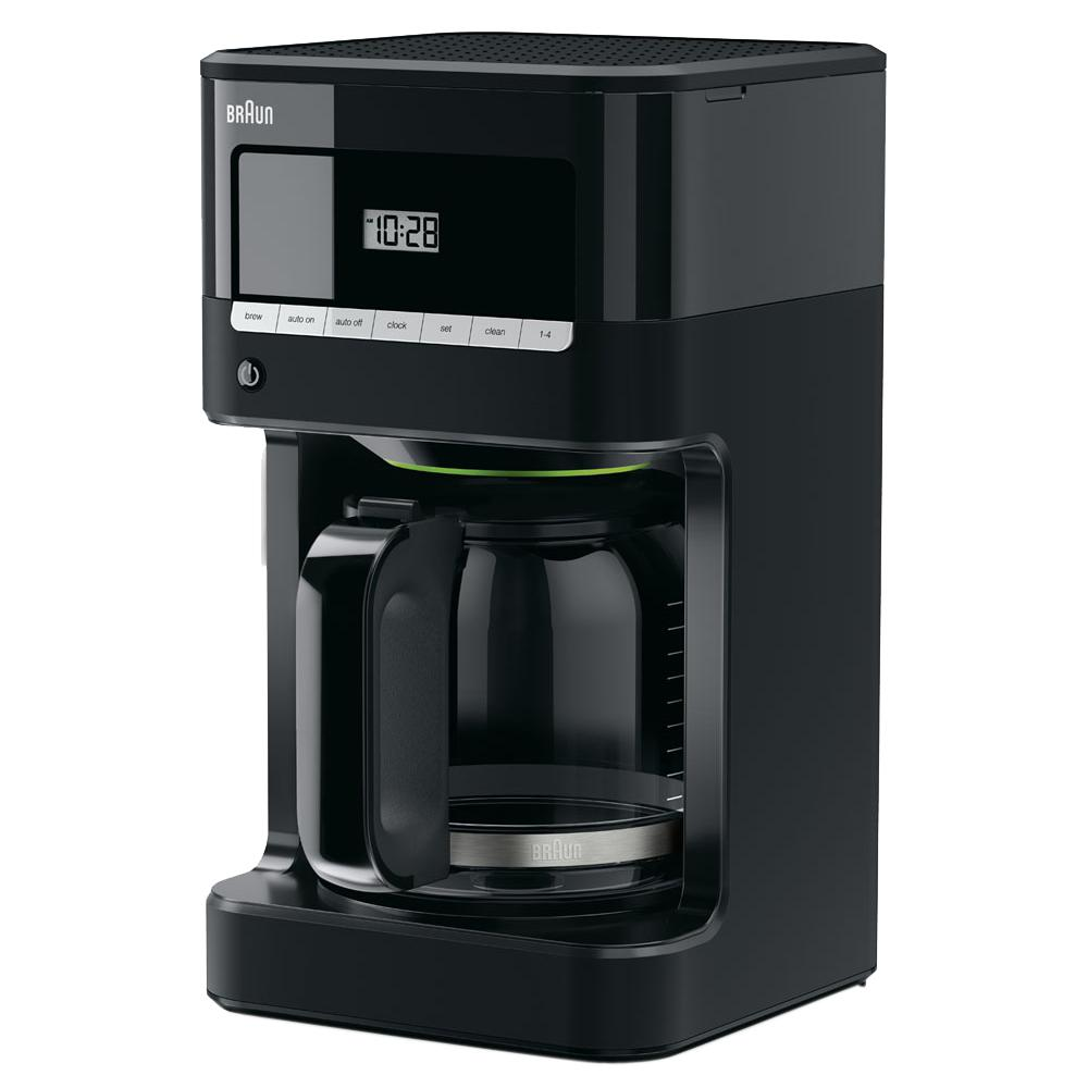 braun kitchen appliances wooden toy kitchens the home depot brewsense 12 cup drip coffee maker in black