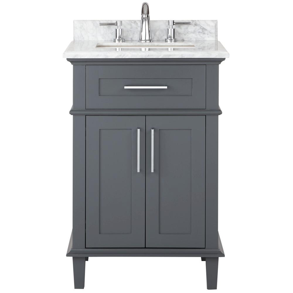 24 Inch Bathroom Vanities Home Depot