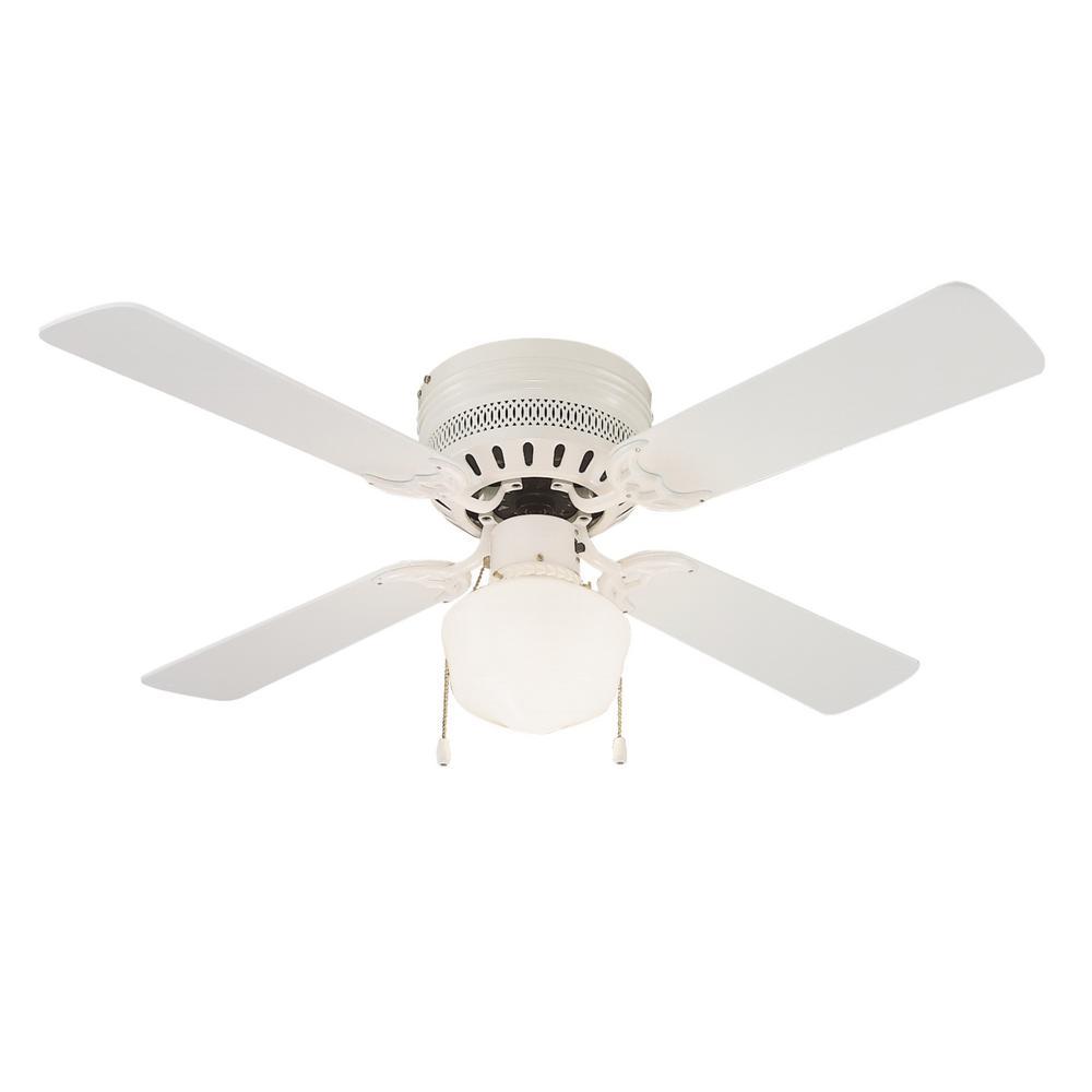 Design House Millbridge Hugger 42 in. White Ceiling Fan