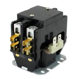 208 240 volt coil voltage f l amp 30 pole 2 res 40 amp definite purpose contactor [ 1000 x 1000 Pixel ]
