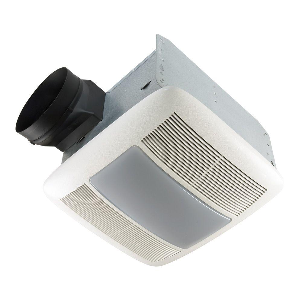 QTX Series Very Quiet 80 CFM Ceiling Exhaust Bath Fan with