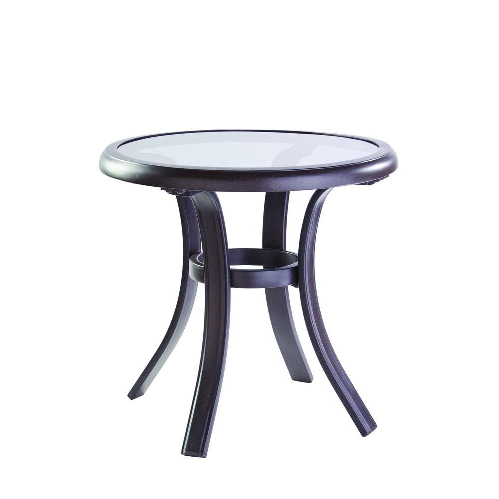 Hampton Bay Statesville Patio Side TableFTS70513A  The