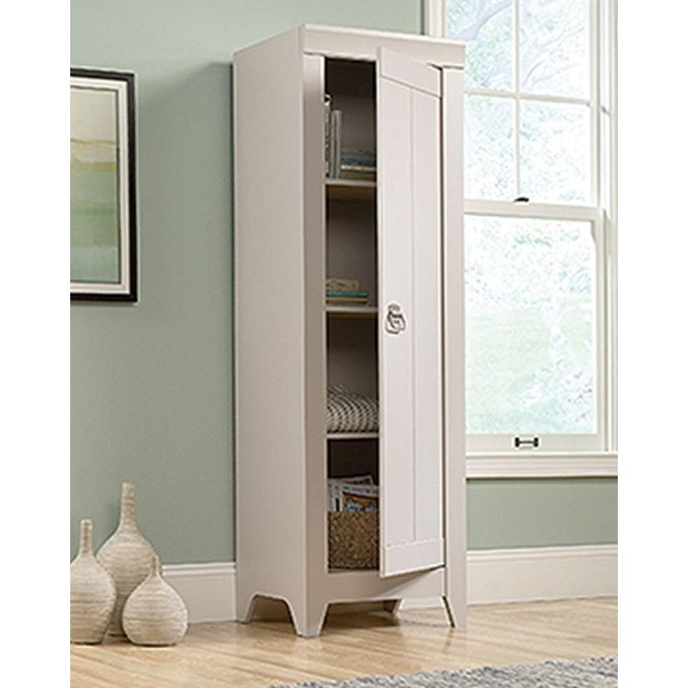 SAUDER Adept Cobblestone Storage Cabinet418085  The Home Depot