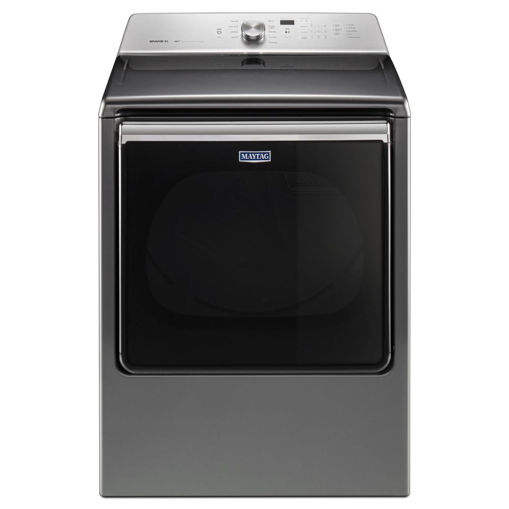 hight resolution of maytag 8 8 cu ft 120 volt metallic slate gas vented dryer with advance