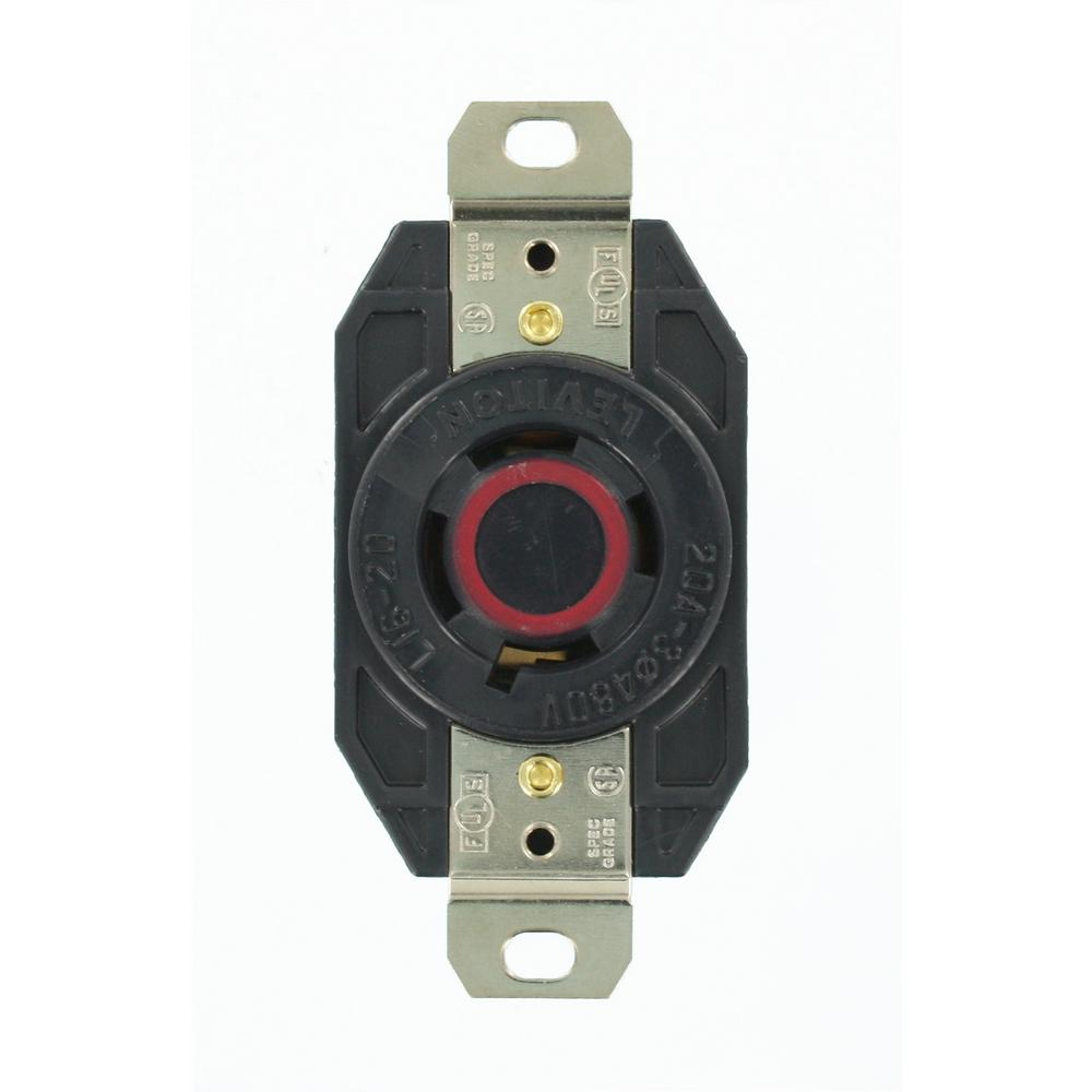 hight resolution of leviton 20 amp 480 volt 3 phase flush mounting grounding lockingleviton 20 amp 480 volt 3