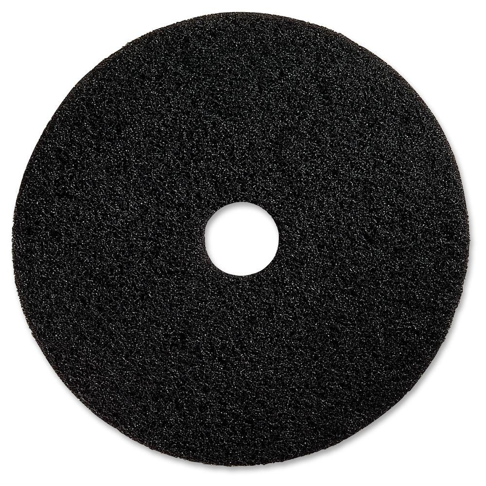 Genuine Joe 20 in Black Floor Stripping Pad 5 per Carton