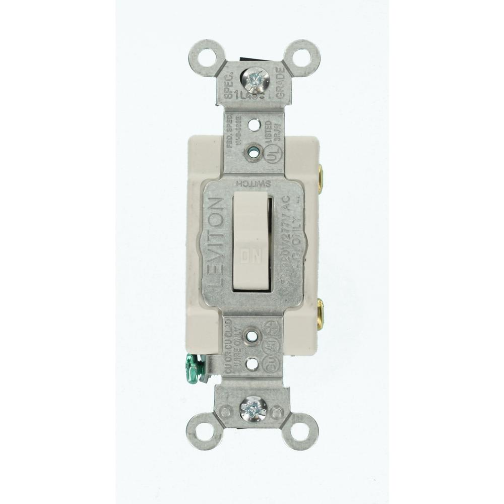 medium resolution of 15 amp commercial grade single pole toggle switch white