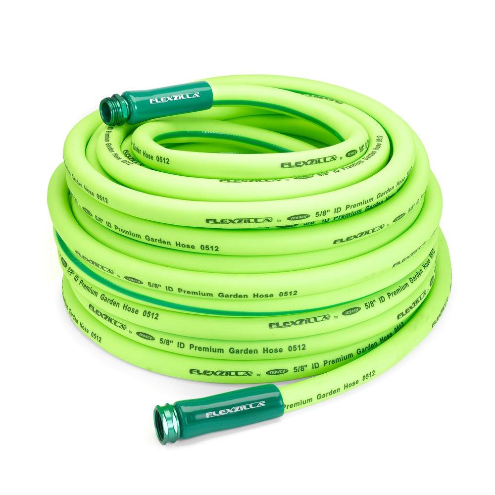 Legacy 5/8 in. x 100 ft. ZillaGreen Garden Hose with 3/4