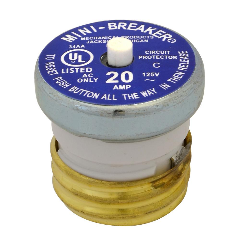 hight resolution of cooper bussmann 20 amp plug type circuit breaker