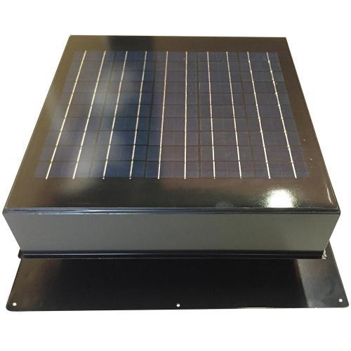 small resolution of 20 watt 1280 cfm gray solar powered attic fan