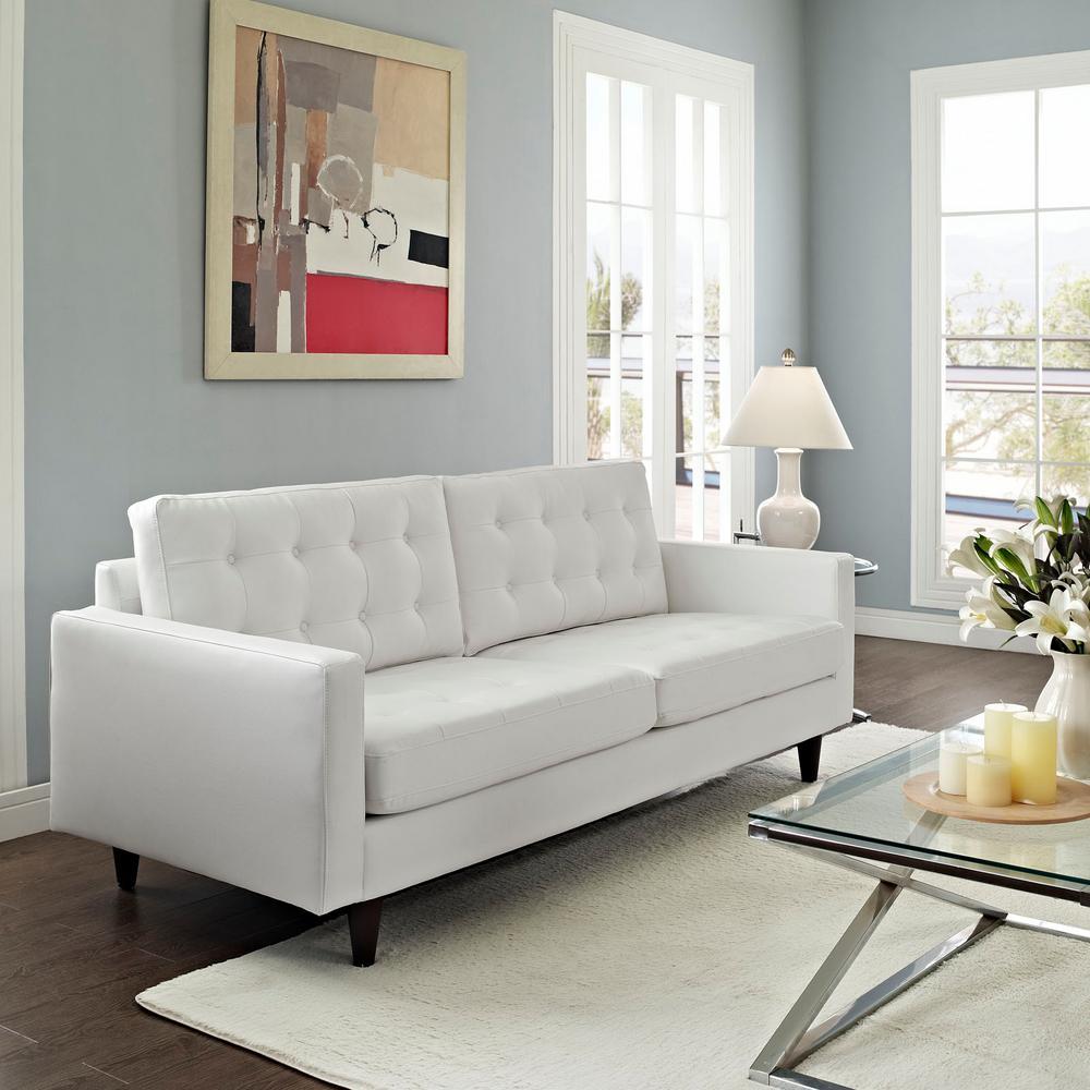 white sofa set living room small apartment decor sofas loveseats furniture the home depot empress bonded leather