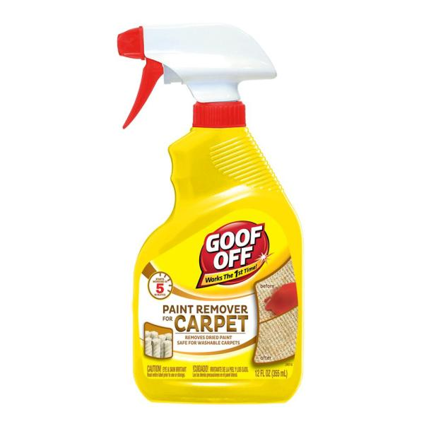 Goof 12 Oz. Paint Remover Carpet-fg910 - Home Depot