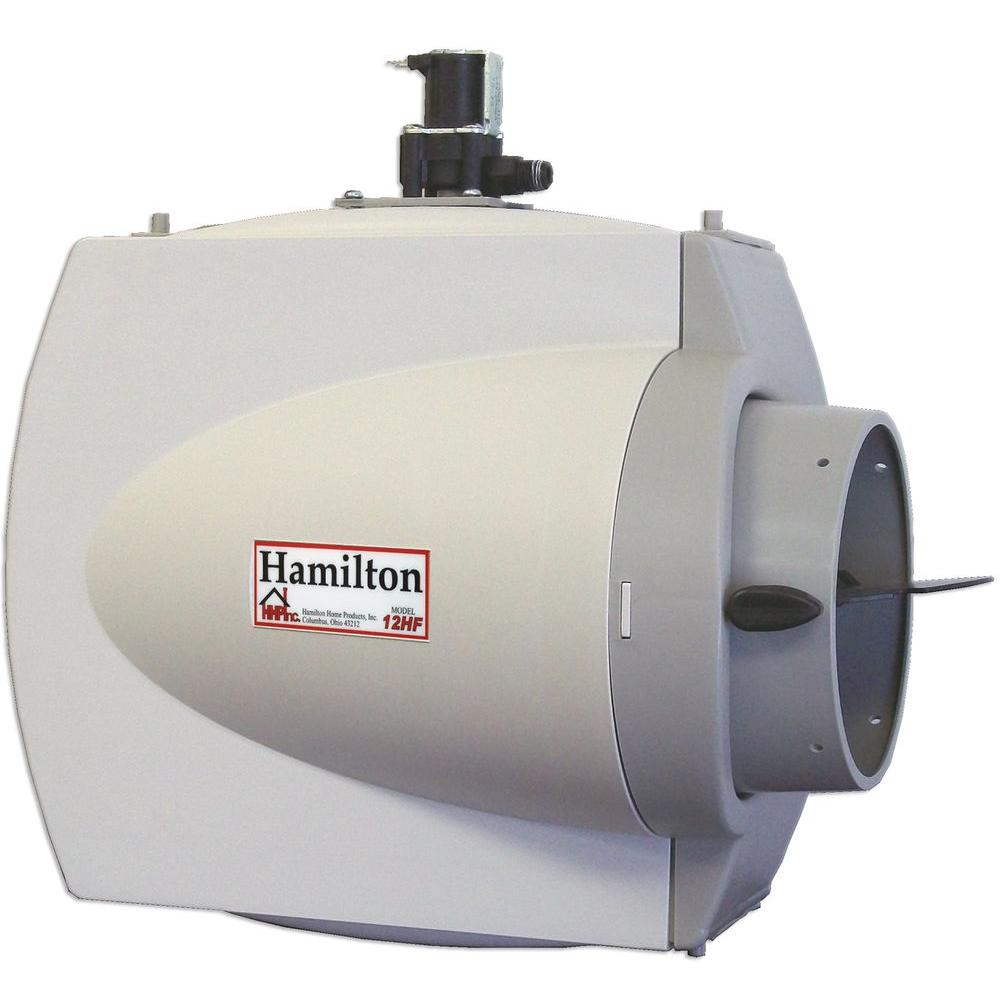 medium resolution of hamilton whole house furnace mount flow through humidifier