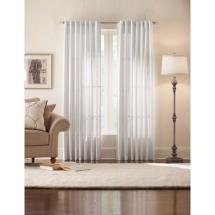 Home Decorators Collection Semi-opaque Monaco White