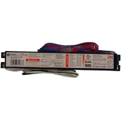 120 to 277 volt electronic ballast for 4 ft 2 lamp t8 fixture [ 1000 x 1000 Pixel ]