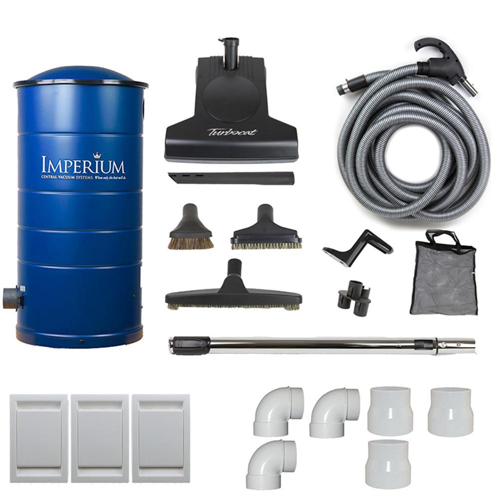 medium resolution of imperium central vacuum with attachment kit