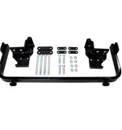 snow plow custom mount for ford escape 2002 2005 and mazda tribute [ 1000 x 1000 Pixel ]