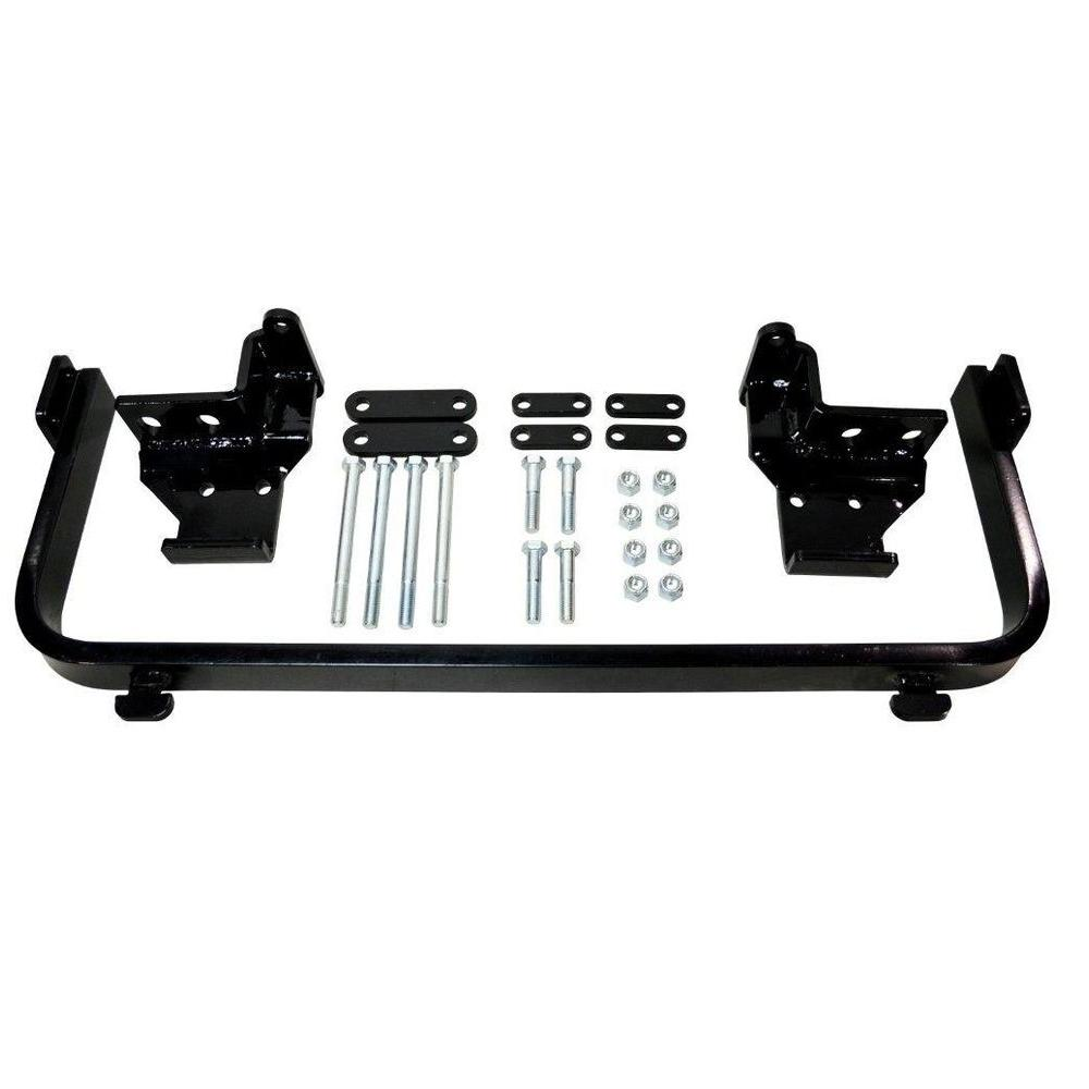 hight resolution of detail k2 snow plow custom mount for blazer 92 94 and tahoe 95 00
