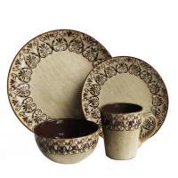 American Atelier 16-Piece Mendhi Dinnerware Set-1180094 ...