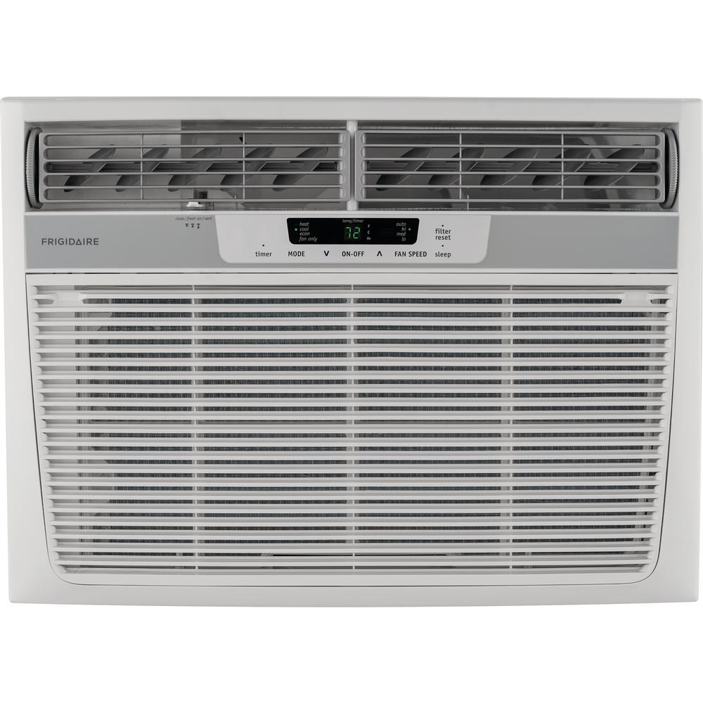 hight resolution of 18 500 btu 230 volt window air conditioner with heat and remote