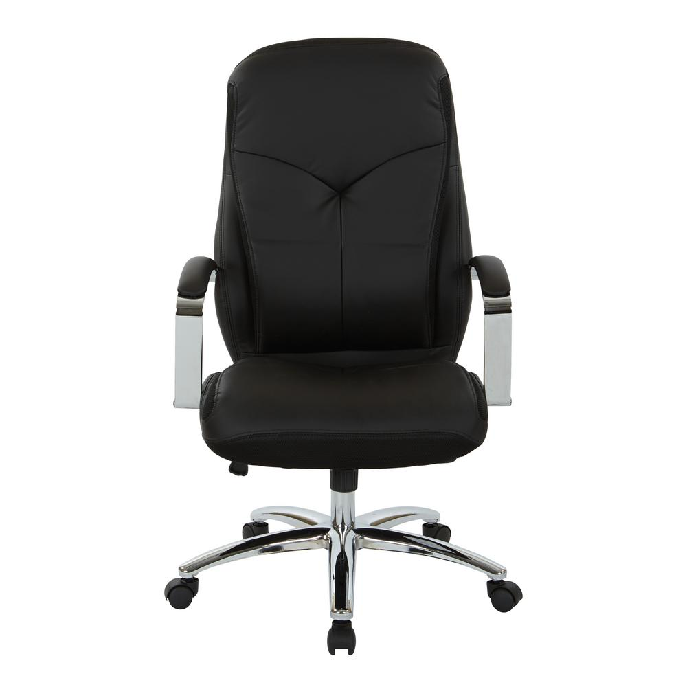 grey material office chair black linen covers inspired by bassett clifton with mesh and faux leather